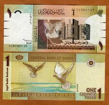 Sudan, 1 Pound, 2006, P-64, UNC . Replaced by a coin