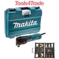 Makita TM3010CK Oscillating Multi-Tool Quick Change Blade + Accessories 240V