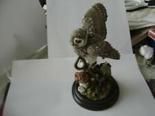 COUNTRY ARTISTS ORNAMENT LITTLE OWL POST OFFICE MILE STONE by DAVID IVEY MINT.
