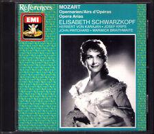 Elisabeth Schwarzkopf: MOZART ARIAS le nozze di Figaro Don Giovanni Idomeneo CD