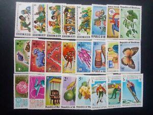 MALDIVE good lot of stamps very fine MNH