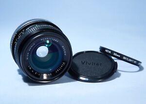 Vivitar MC 28mm f/2.0 FAST Prime Lens * Kiron * Canon FD A-1 AE-1 F-1 etc..
