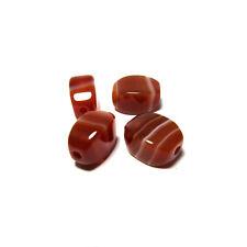 Carnelian Red Agate Stone Beads Japanese Juzu Rosary Gemstone Jasper Kyoto