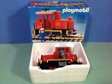 (O4050) playmobil train locomotive wagon ref 4050 en boite complète