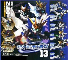 Bandai SD Gundam Next 13 Gashapon (Set of 6) Wing GX-9900 OZ-OOMS2B GX-9900-DV