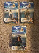 Final Fantasy X SEYMOUR, TIDUS & YUNA BANDAI Action Figures