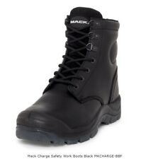 MACK CHARGE STEEL CAPPED HEAT RESISTANT SAFETY WORK BOOTS.  AUS/UK SIZE 9