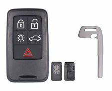 New Smart Remote Car Key Shell Case Fob 5 Button for Volvo S60 S80 V60 XC60 XC70