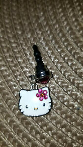 Hello Kitty Pink Bow Dainty Cell phone dust cover Plug