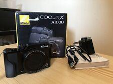 "Nikon Coolpix A1000 Digital Camera in Black ""Excellent Condition"""