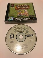 😍 jeu playstation 1 2 3 ps1 ps2 pal fr harvest moon back to nature rare