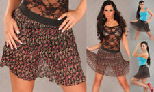 Plaid Casual Regular Size Skirts for Women