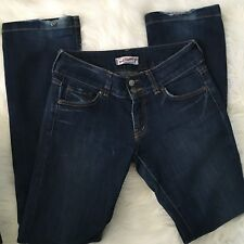 red engine jeans 28 dark wash style 136-25 straight - size 28