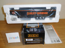 MTH RAILKING 30-50039 HARLEY-DAVIDSON MOTORCYCLES VENDOR TRAILER TOY ACCESSORY