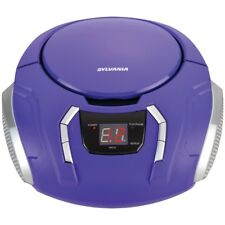 Sylvania Srcd261-B-Purple Portable Cd Players with Am/Fm Radio (Purple)