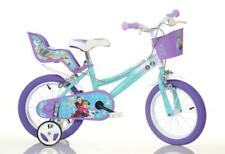 "Dino Disney Frozen Kids Girls Single Speed Bike Bicycle Stabilisers 16"" Wheels"
