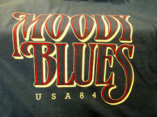 Moody Blues Summer Nights 1984 Vintage T-shirt Size S/M