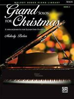 Grand Solos for Christmas, Bk 2 : 8 Arrangements for Elementary Pianists