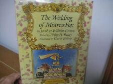 Wedding of Mistress Fox/ Grimm/ Bailey/ Bishop/ hardback/jacket/1994