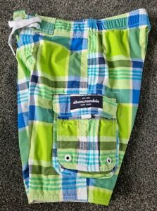 Abercrombie And Fitch Kids Swim Shorts - Large/ Used