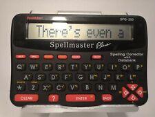 More details for retro franklin spellmaster plus spq-200 spelling corrector spell checker