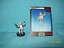 WotC Star Wars Miniatures Clone Trooper Sergeant, Clone Strike 10/60, Rep, Com