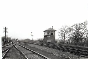 Rail Photo LNER NBR Bathgate Junction signal box Edinburgh Monkland railways