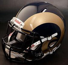 ST. LOUIS RAMS NFL Authentic GAMEDAY Football Helmet w/ S2EG-II-SP Facemask