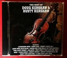 DOUG KERSHWAW & RUSTY KERSHAW - THE BEST OF (1991) **MINT CONDITION**