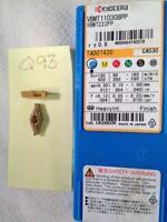 10 NEW KYOCERA VBMT 222PP CARBIDE INSERTS. VBMT 110308PP. GRADE: CA530.  {Q93}