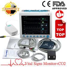 CE FDA CO2 Monitoring Vitalzeichen ICU Patientenmonitor EKG SpO2 NIBP Temp Resp