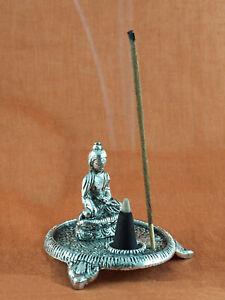 Räucherstäbchenhalter Räucherkegelhalter mit Standbeinen & Buddha