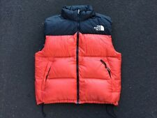 Vintage 90s North Face Nuptse Down Vest Size XL L Red Ski Snow Rain Coat