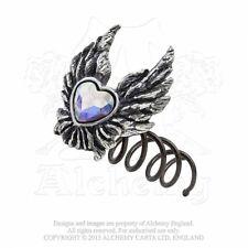 Alchemy England Gotico Steampunk Ali Accessorio Per Capelli a vite CUORE di un angelo