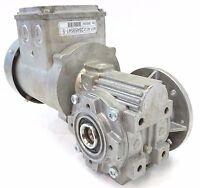 BAUER BS03 Getriebemotor Schneckengetriebe Motor 35U/min 0,25kW 3~ H1-V2 BJ 2014