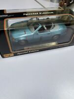 1:18 Maisto Special Edition 1989 Mercedes Benz 500SL Die-Cast Car Blue Rare
