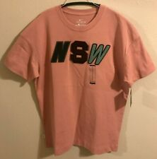 Nike NSW Pink T-Shirt- New Men's Big and Tall Size XL (For Tall People)