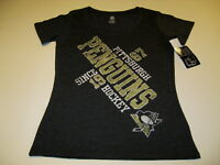 PITTSBURGH PENGUINS Hockey NHL Skating Penguin T-Shirt New! NWT Women's XL 16-18