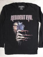 Resident Evil Eye Peeking 20th Anniversary Monster Long Sleeve Shirt T-shirt