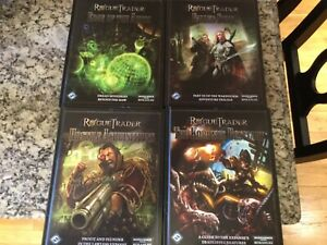 FFG Rogue Trader RPG Lot 4 Books Brand New Hardcovers Warhammer 40k Roleplaying