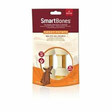 SmartBones Sweet Potato Dog Chew Pack of 2 Medium Real Vegetable No Rawhide
