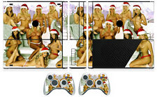 Girls 203 Cover Decal Skin Sticker for Xbox360 Slim E and 2 controller skins