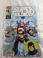 Super Soldiers Comic Book #1 1993 Marvel