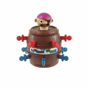 Tomy Mini Pop Up Pirate Classic Travel Size Kids Action Game For 2 To 4 Players