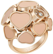 MODEL: 827482-5611 | BRAND NEW CHOPARD HAPPY HEARTS ROSE GOLD WOMENS LUXURY RING