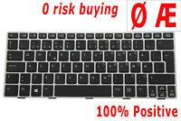Keyboard Norwegian Danish for HP EliteBook Revolve 810 G1 G2 G3 706960-091