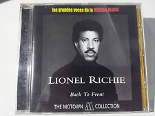 """LIONEL RICHIE """"BACK TO FRONT"""" SPANISH CD FROM """"THE MOTOWN COLLECTION"""""""