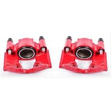 Powerstop S4299-Performance Brake Calipers Powder Coated Red-Front