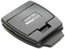 Protezione display LCD con paraluce per Nikon D70  *NUOVA*