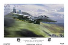 492nd Fighter Squadron F-15E, RAF Lakenheath Digital Artwork